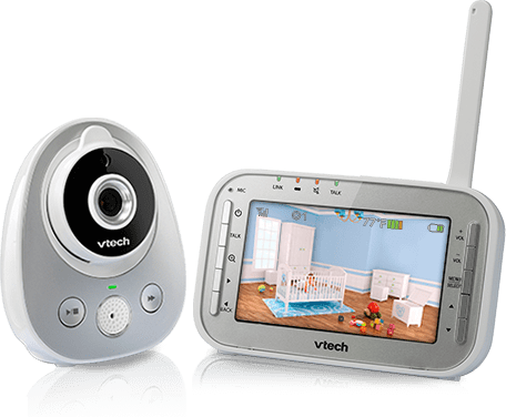 VM342 Video Monitor With Wide-Angle Lens And Standard Lens