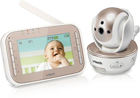 VM343 Pan&Tilt Full Color Video And Audio Baby Monitor