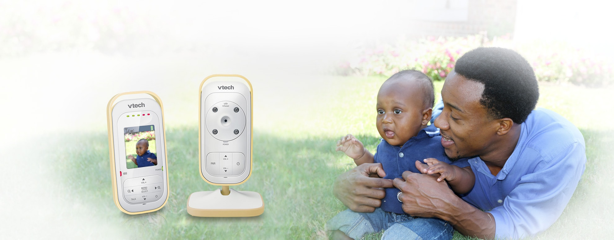 Full Color Video and Audio Baby Monitor